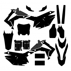 HONDA CRF 250 2016 Graphic Templates