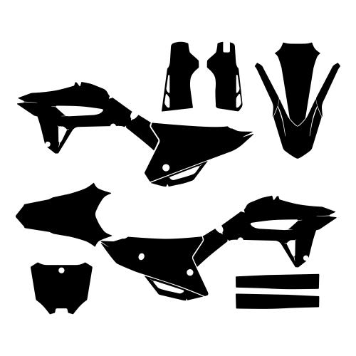 HONDA CRF 450R 2021- Graphic Templates
