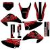 Honda CRF 230 2007 Devil EDITABLE DESIGNS Graphic Templates