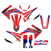 Honda CRF 230F STORM EDITABLE DESIGNS Graphic Templates
