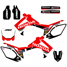 Honda CRF 250 450 2013 2014 ONE EDITABLE DESIGNS Graphic Templates