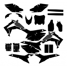 HONDA CRF 450 2015 Graphic Templates