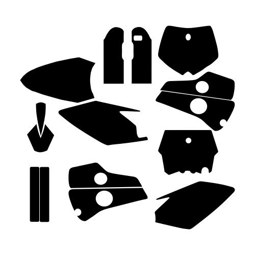 Husaberg 2000 2001 2002 2003 2004 2005 Graphic Templates