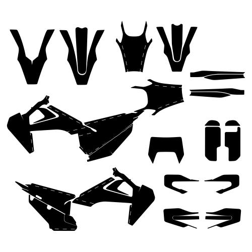 Husqvarna TE FE 2020- Graphic Templates
