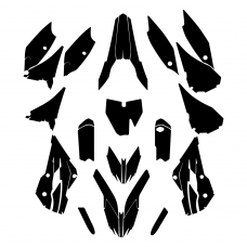 HUSQVARNA TC 85 2016 Graphic Templates