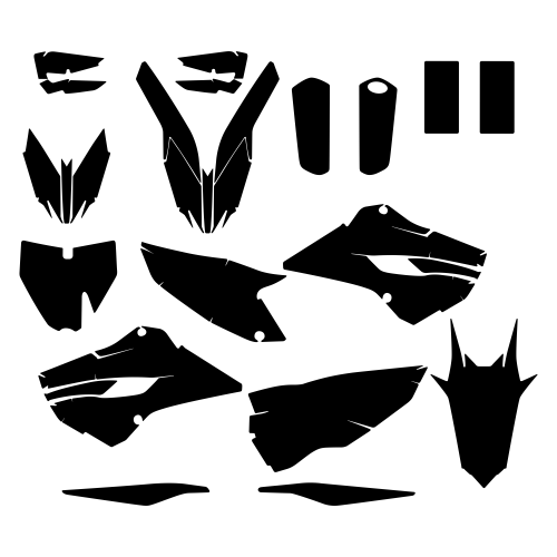 HUSQVARNA TC FC 2015 Graphic Templates