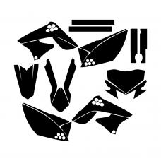 KAWASAKI KLX 150 2015 Graphic Templates