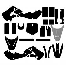 KAWASAKI KX 65 2000-2019 (Full Kit) Graphic Templates