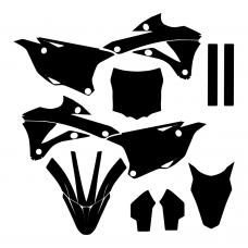 Kawasaki KX 85 2014 2015 Graphic Templates