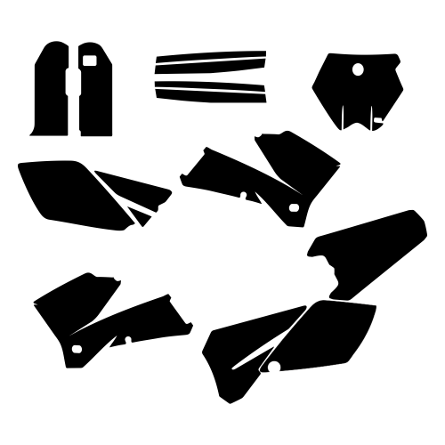 KTM SMR 450 525 560 Graphic Templates