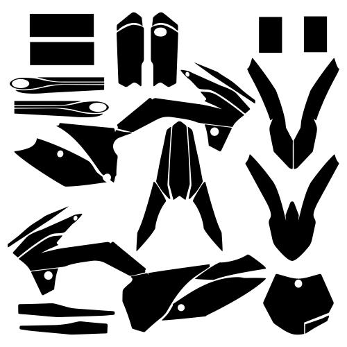 KTM 85 2013 2014 2015 2016 2017 Graphic Templates