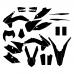 KTM EXC-F 250 350 450 500 2015 Graphic Templates