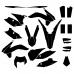KTM EXC 125 200 250 300 2014 2015 Graphic Templates