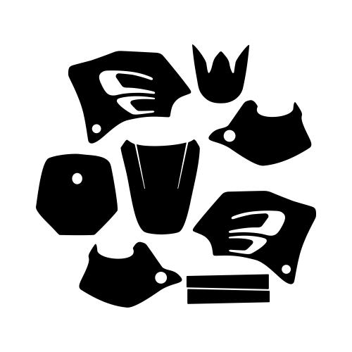 KTM SX 65 2002 Graphic Templates