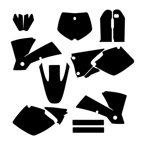 KTM SX 2001 2002 Graphic Templates