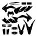 KTM EXC XC XCF Enduro All Models 2016 Graphic Templates