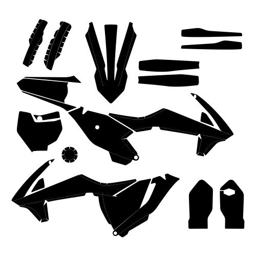 KTM SX 85 2018 Graphic Templates