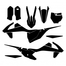 KTM All Models SX 2016 Graphic Templates