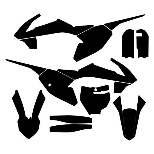 KTM SX 65 2016 Graphic Templates