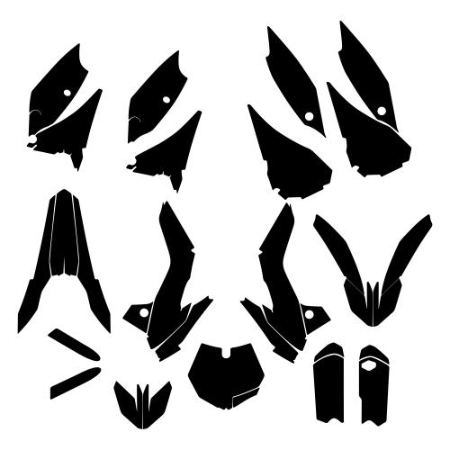 KTM SX 85 2016 Graphic Templates