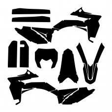 SHERCO 250 300 450 2016 Graphic Templates