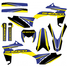 SHERCO 250 300 2012 2013 2014 2015 2016 Ranger EDITABLE DESIGNS Graphic Templates