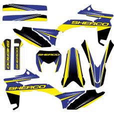 SHERCO 250 300 2012 2013 2014 2015 2016 Ranger EDITABLE DESIGNS Graphic Templates