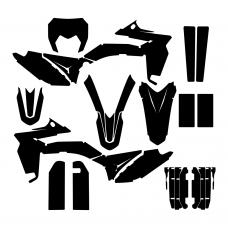 SHERCO SE-F 250 300 2015 Graphic Templates