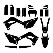 SHERCO SE-R 250 2018 Graphic Templates