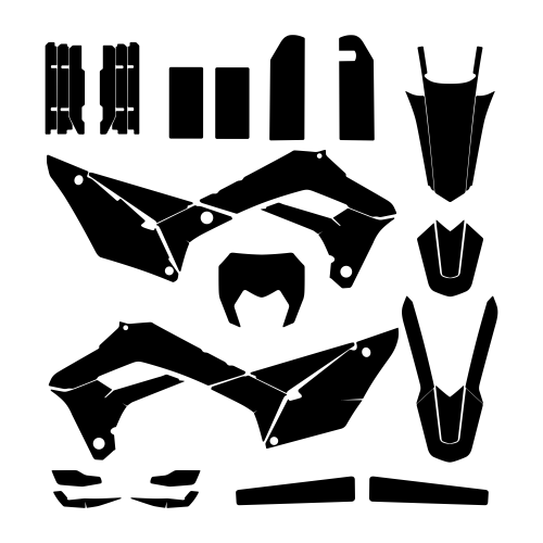 SHERCO SEF-R 250 2018 Graphic Templates