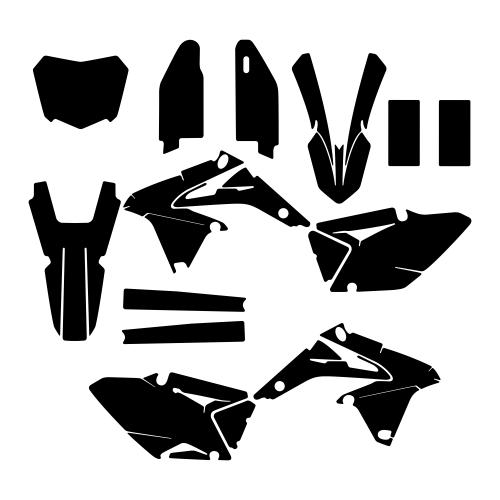 SUZUKI RMZ 450 2015 Graphic Templates