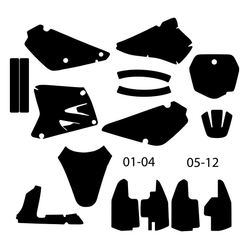 Suzuki RM 85 2015 Graphic Templates