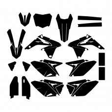 SUZUKI RMZ 250 2014 Graphic Templates