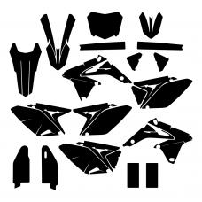 SUZUKI RMZ 250 2015 Graphic Templates