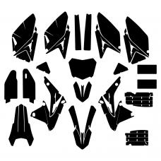 SUZUKI RMZ 250 2016 Graphic Templates
