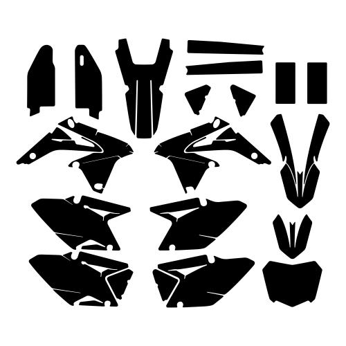SUZUKI RMZ 450 2014 Graphic Templates
