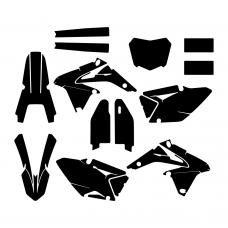 SUZUKI RMZ 450 2016 Graphic Templates
