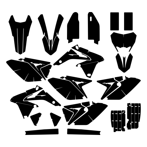 SUZUKI RMZ-X 450 2015 Graphic Templates