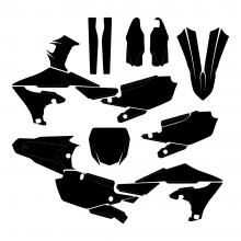 Yamaha YZF 450 2018 2019 2020 Graphic Templates