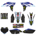Yamaha YZF 250 2010 2011 2012 2013 EDITABLE DESIGNS Graphic Templates