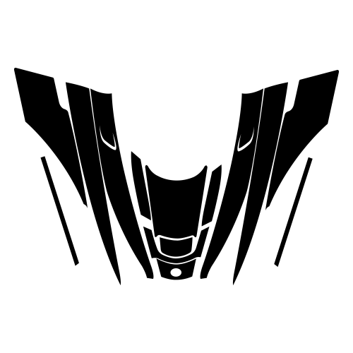 Polaris 120cc Hood Graphics Template