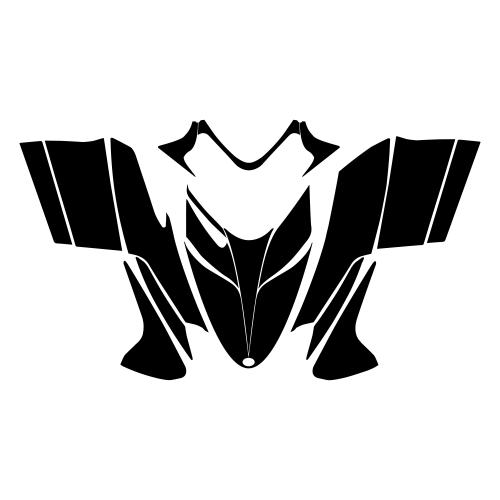 Polaris IQ RMK Shift Dragon 2005 2006 2007 2008 2009 2010 2011 2012 Hood Graphic Templates