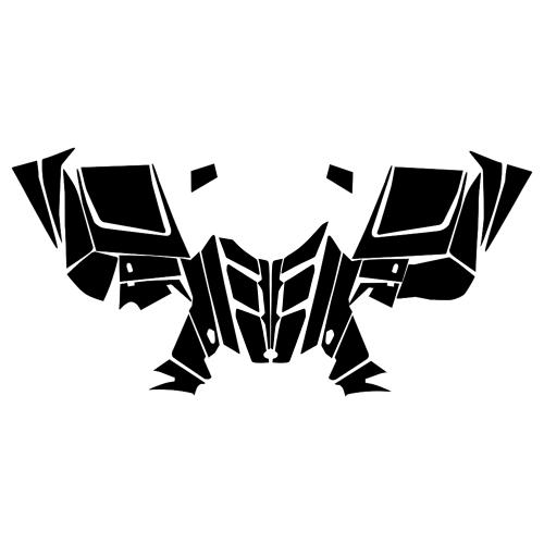 Polaris RMK Rush Assault 2011-2012 Hood Graphics Template