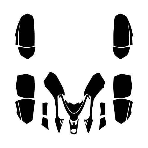 POLARIS Outlaw and Predator 50 Graphics Template