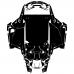 POLARIS RZR 1000 TURBO S 2019 Full Kit Graphic Templates