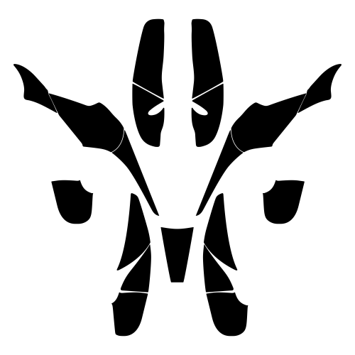 Polaris Scrambler Trailblazer 1985-2009 Graphics Template