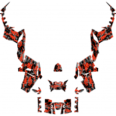 Polaris Sportsman Touring 850 Camo EDITABLE DESIGNS Graphic Templates