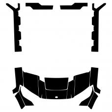 POLARIS Ranger XP 1000 2018 2019 2020 Graphic Templates