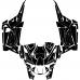 Polaris RZR XP 1000 2019- (Full Kit) Graphic Templates
