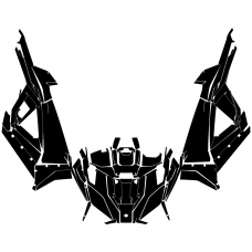 Polaris RZR XP PRO 2020- Graphic Templates